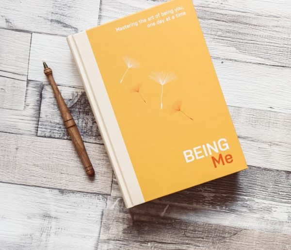 Being me diary with pen