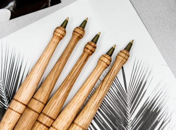 Five pens